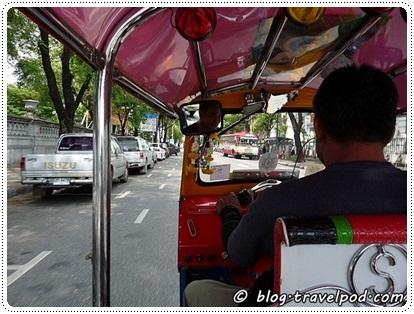 A tuk-tuk in Thailand