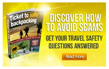 Ticket to safe backpacking ebook banner