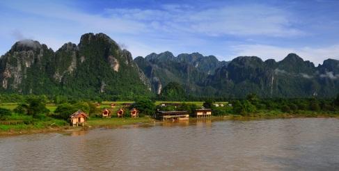 Vang Vieng in Laos, ©iStockphoto.com/Worakit Sirijinda