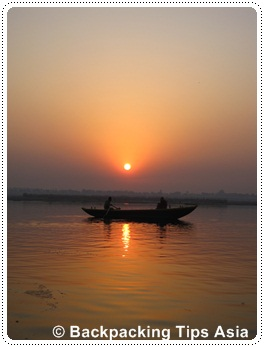 Sunrise in Varanasi
