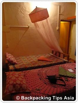Room at Shiva Garden in Varkala, India