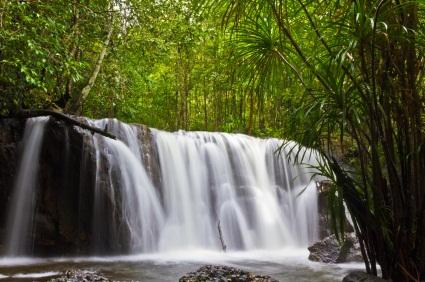 Phu Quoc waterfalls in Vietnam, ©iStockphoto.com/Frank Fischbach